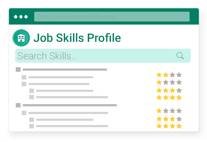 job skills profile